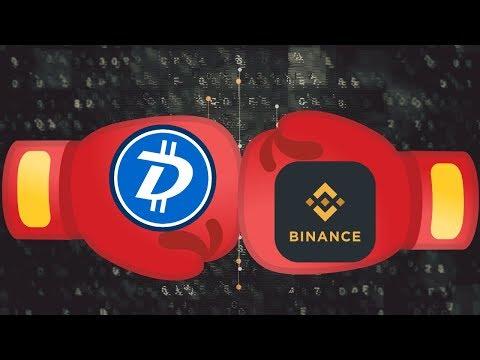 News: DigiByte(DGB) vs Binance