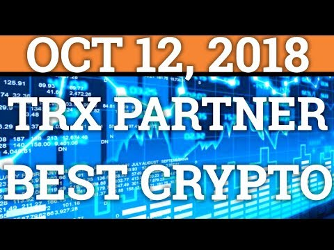 TRON $10BILLION PARTNERSHIP! BEST CRYPTOCURRENCY UNDER $1? (BITCOIN TRADING + PRICE + NEWS 2018)