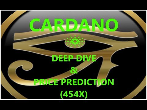 Cardano 454X price perdiction?! ADA DEEP DIVE! (Easily explained) Bitcoin?