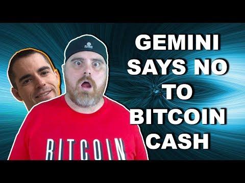 Gemini Postpones BCH Listing! | $BCN Bitfinex OKEX NBA & More!
