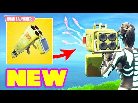 *NEW* QUAD LAUNCHER IS OP IN FORTNITE! (Fortnite Battle Royale) Fortnite Epic & Funny Moments #338