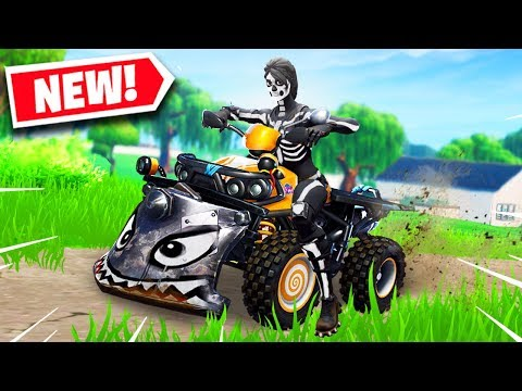 *NEW* QUAD CRASHER VEHICLE IN FORTNITE IS INSANE! (Fortnite Battle Royale) Epic & Funny Moments