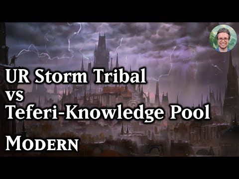 UR Storm Tribal vs Teferi Knowledge Pool – Modern MTG [43.48 tix]