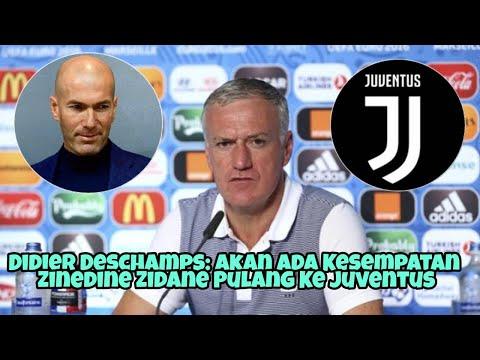 Didier Deschamps: Akan Ada Kesempatan Zinedin Zidane Pulang ke Juventus