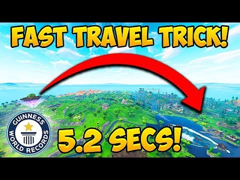 *NEW TRICK* Cross Map in 5 SECONDS! – Fortnite Funny Fails and WTF Moments! #350