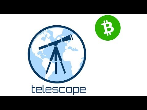 Telescope – Bitcoin Cash Wallet Web Browser Extension