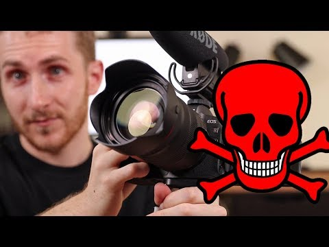 This Vlog KILLED my Canon EOS R | Camera is 100% NOT WORKING