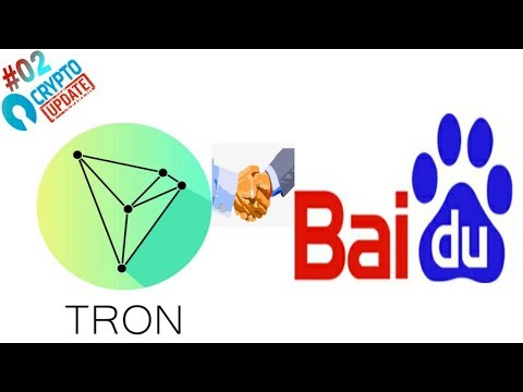 Tron coin (TRX) करने जा रही है New partnership | TRON to Partner with 'China's Google,' Baidu