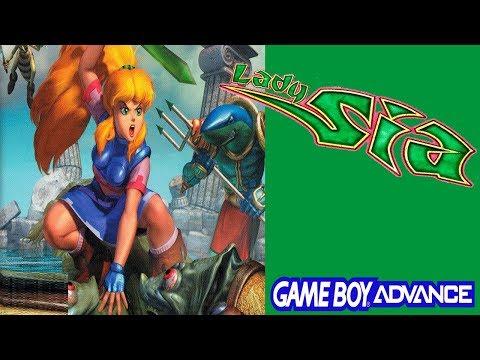 🔴 Lady Sia [Game Boy Advence] Conferindo game pela 1ª vez / ATÉ ZERAR??