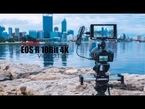 Canon EOS-R EOS R 10Bit 4:2:2 4K Video Test (Tested with Atomos Shogun ProRes HQ)
