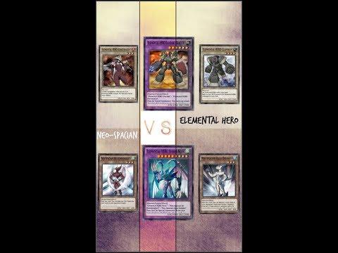 Yugioh Duel Links – Neo-Spacian Vs Elemental Hero