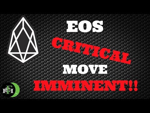 EOS COIN EOS – CRITICAL MOVE IMMINENT (Must Watch) – October 2018