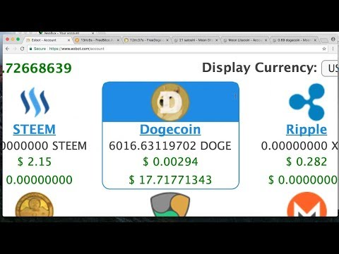 EOBOT 100% LEGIT – Withdraw Lagi 140 DOGECOIN (APPROVED)