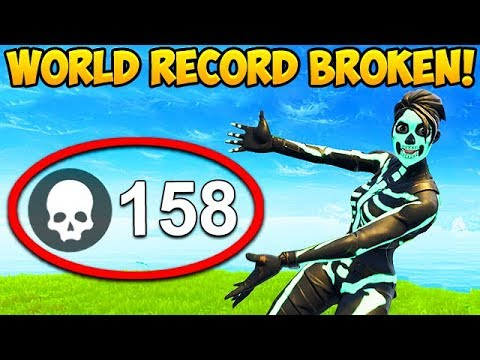 158 KILLS IN 1 GAME! *WORLD RECORD BROKEN* – Fortnite Funny Fails and WTF Moments! #352