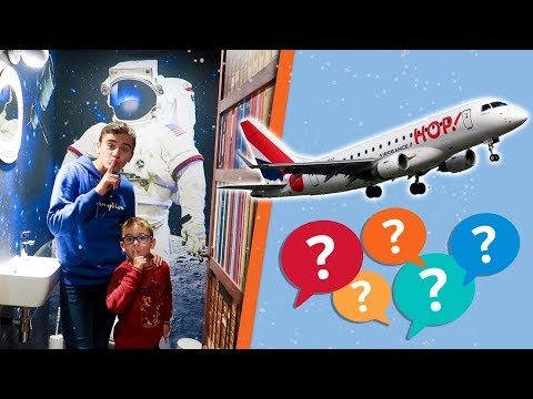 VLOG – DESTINATION SURPRISE EN AVION … ✈️
