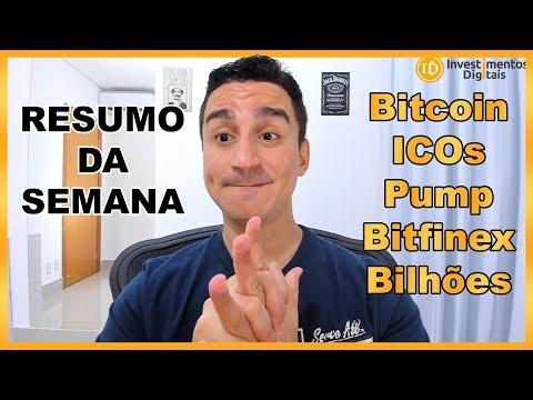 Resumão Semana: Bitcoin / ICOs Investigadas / Yobit Pump / Bitfinex Bilhões Falindo / + Ricos China