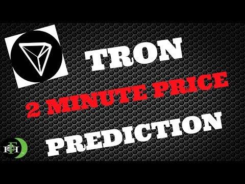 TRON TRX (2Min) Price Prediction – (October 14, 2018)
