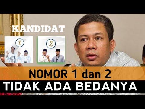 Kandidat No 1 dan 2 Tidak Ada Bedanya ~ Fahri Hamzah Deklarasi Garbi Sumsel
