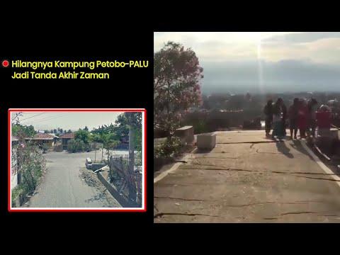 Vidio Terakhir Gempa!! PALING Langka di Dunia ada di PALU, Petobo – INDONESIA