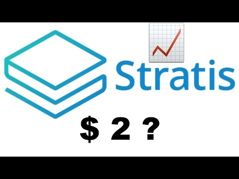 Stratis Price Prediction & Analysis! $2 in 2019???