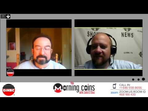 Morning Coins w/ John & Chas 28 Digibyte #DGB – Is a partnership of Community Possible w/ Steem?