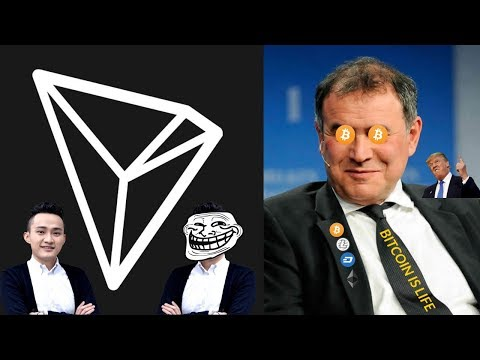 Tron MEGA Announcement (lols) | Nouriel Roubini Loves Crypto?