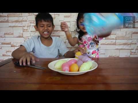 Minuman Es Aneka Rasa Buah Bentuk Es Krim | Ada Yang Asem!
