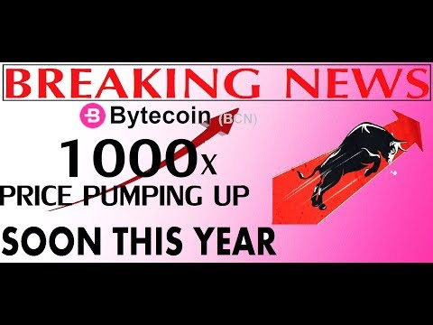 BYTECOIN BCN PRICE PREDICTION | 40% PRICE DROP IN 7 DAYS | BULL RUN SOON 1$ HIT |  BYTECOIN NEWS