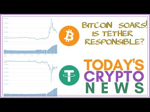 Bitcoin SOARS! Is Tether (USDT) Responsible?? – Today's Crypto News