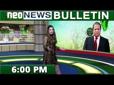 News Bulletin | 6:00 PM | 15 October 2018 | Neo News