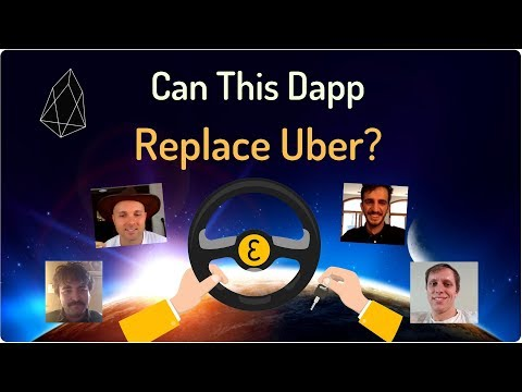 Why EVA Could Replace UBER – New EOS Ride-Share Dapp