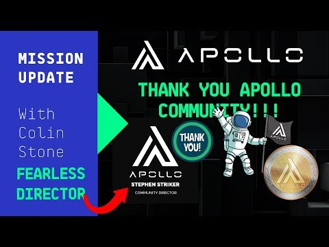 Mission Update #39 – Best Telegram Community in Cryptocurrency – Apollo