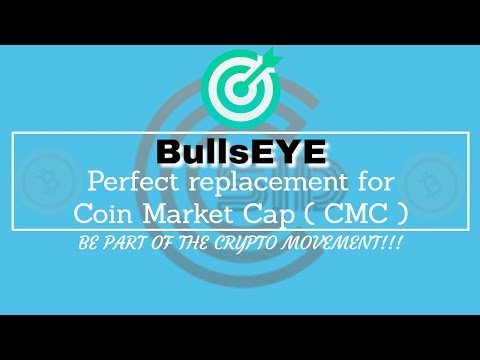 Bulleye.io Cryptocurrency Market – Best Coin Market Cap REPLACEMENT!!!