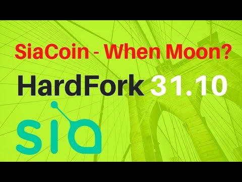 SiaCoin HardFork 31.10.2018 – Be Ready! Przygotuj się na widelec! | ENCYKLOPEDIA KRYPTOWALUT