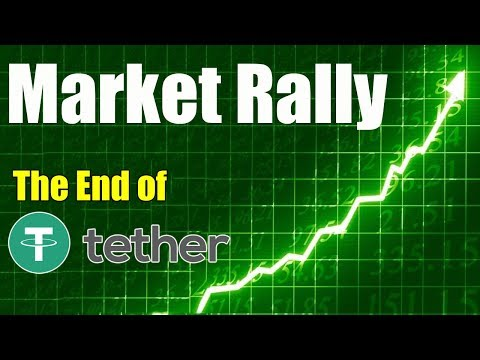 Crypto Market RALLY – Is This The End of Tether? – Daily Bitcoin and Cryptocurrency News