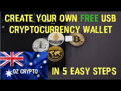 How To Create A FREE USB Cryptocurrency Wallet In 5 Easy Steps – XRP & Bitcoin