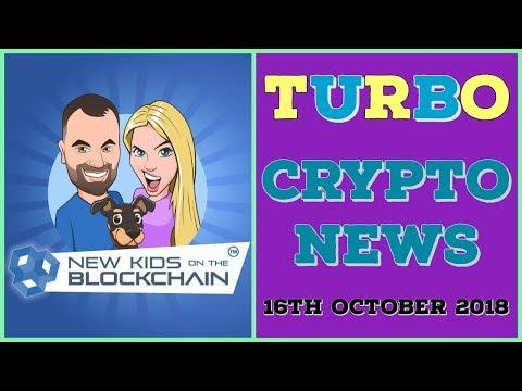 CRYPTO TURBO NEWS 16th Oct BTC, ETH, RIPPLE , EOS, LTC and MORE!