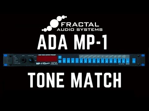 Axe-Fx III ADA MP-1 Tone Match Preset
