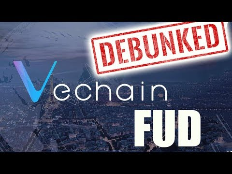 Debunking VeChain FUD & Daily Bitcoin and Cryptocurrency News