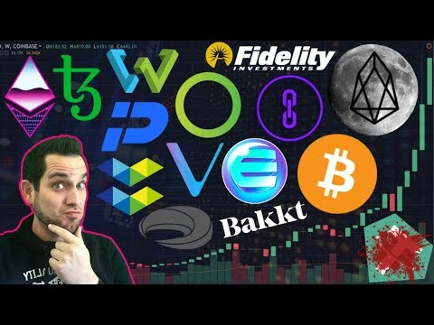 Will Fidelity Trigger The Bull Market? 🚀 $EOS In Space?!? Stablecoin Madness!!!