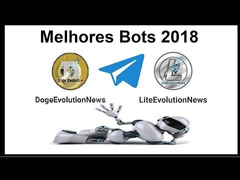Doge e Lite Evolution News – MELHORES BOTS DE 2018 para INVESTIR