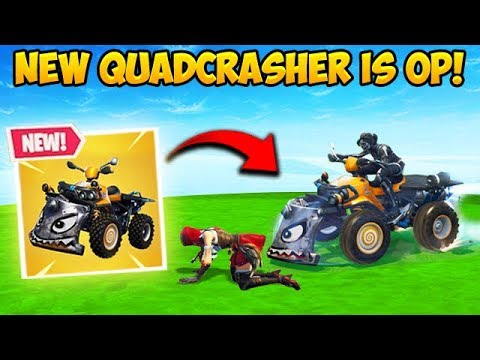 *NEW* QUADCRASHER CAR IS INSANE! – Fortnite Funny Fails and WTF Moments! #354