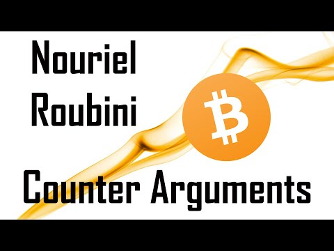 Nouriel Roubini Counter Arguments | Bitcoin $BTC and Cryptocurrency