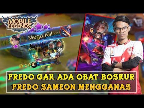 Lunox Fredo Gak Ada Obat !! Indonesia Remehkan Lunox Fredo !! | Mobile Legends