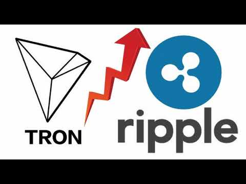 Ripple's XRP and Tron (TRX) on the High _ Crypto News !