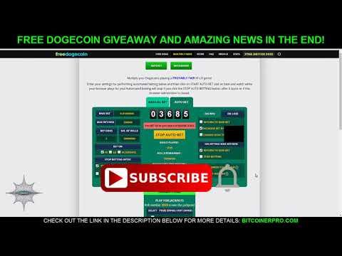 FreeDoge.co.in Automation and Giving Away Free Dogecoin