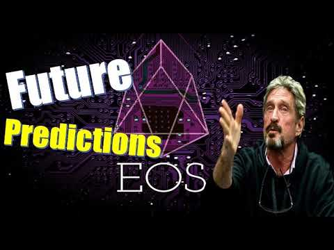 EOS Price Predictions _  The Future Looks Bright For Cryptocurrency  – John McAfee
