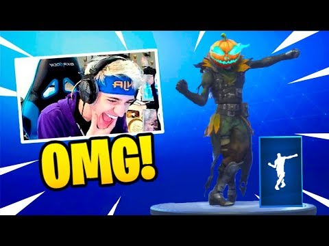 NINJA REACTS TO *NEW* ELECTRO SWING DANCE EMOTE! (Fortnite Battle Royale) Epic & Funny Moments #129