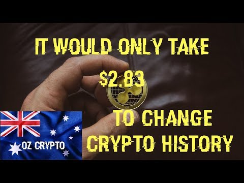 It Would Only Take $2.83 To Change Crypto History – Ripple XRP