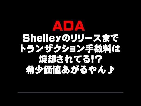 ADA  Shelleyのリリースまで トランザクション手数料は焼却されてる!? 希少価値あがるやん♪仮想通貨(ADA)で億り人を目指す!近未来戦士ヒロミの暗号通貨ライフ